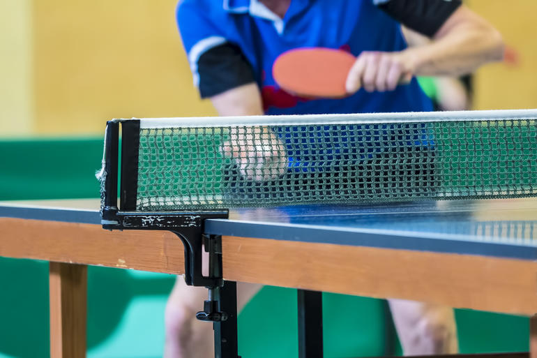 Grand tournoi de ping-pong