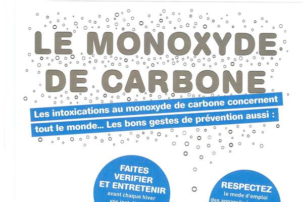 Intoxications au monoxyde de carbone : attention danger à domicile